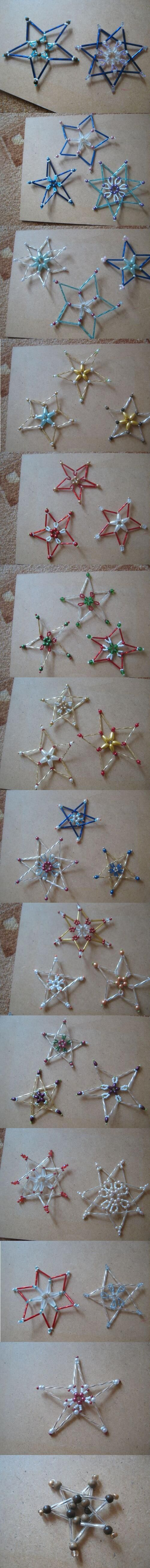 stars of beads