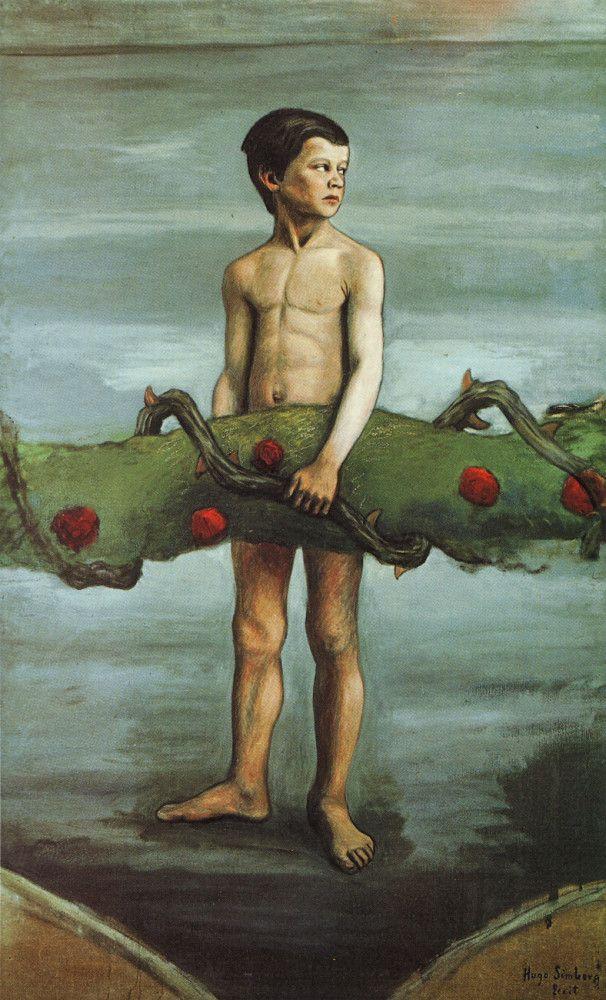 Köynnöksenkantaja by Hugo Simberg