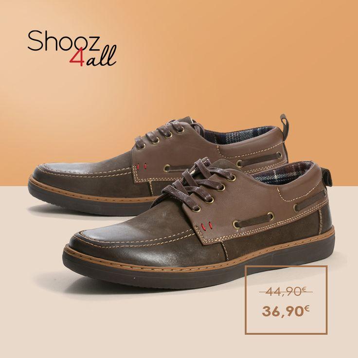 Διαχρονικό ανδρικό στυλ και άνεση στην καθημερινότητα σας με ανδρικά casual παπούτσια σε καφέ χρώμα. Από γνήσιο δέρμα, διαθέτουν σόλα από αντιολισθητικό υλικό.  http://www.shooz4all.com/el/andrika-papoutsia/dermatina-casual-papoutsia-kafe-a705-detail #shooz4all #andrika #dermatina