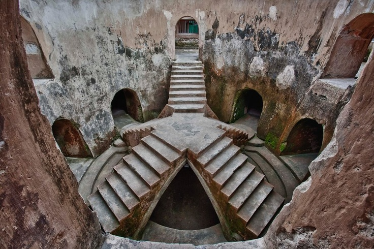 Underground Mosque, Yogyakarta Indonesia