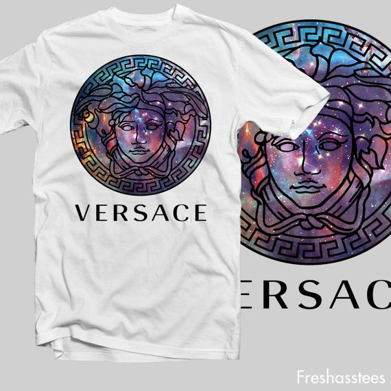 versace medusa migos drake galaxy outer space by freshasstees, $18.00
