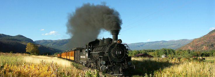 Approaching Durango, CO on The Durango & Silverton Narrow Gauge Train: | 15 Beautiful Sights Best Seen By Train