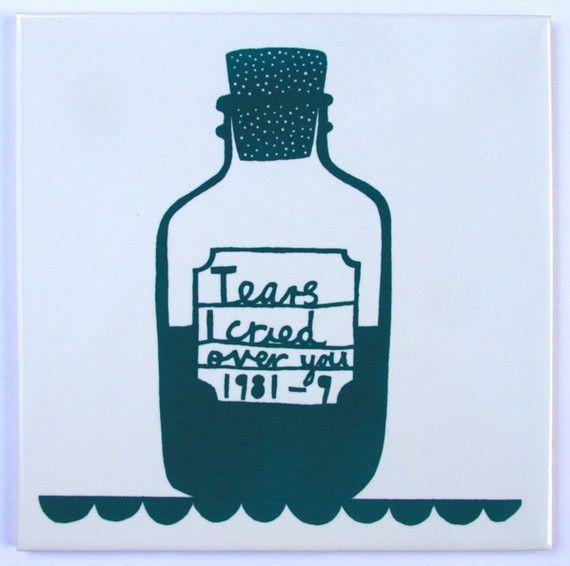 on tile, by Robert Ryan $36
