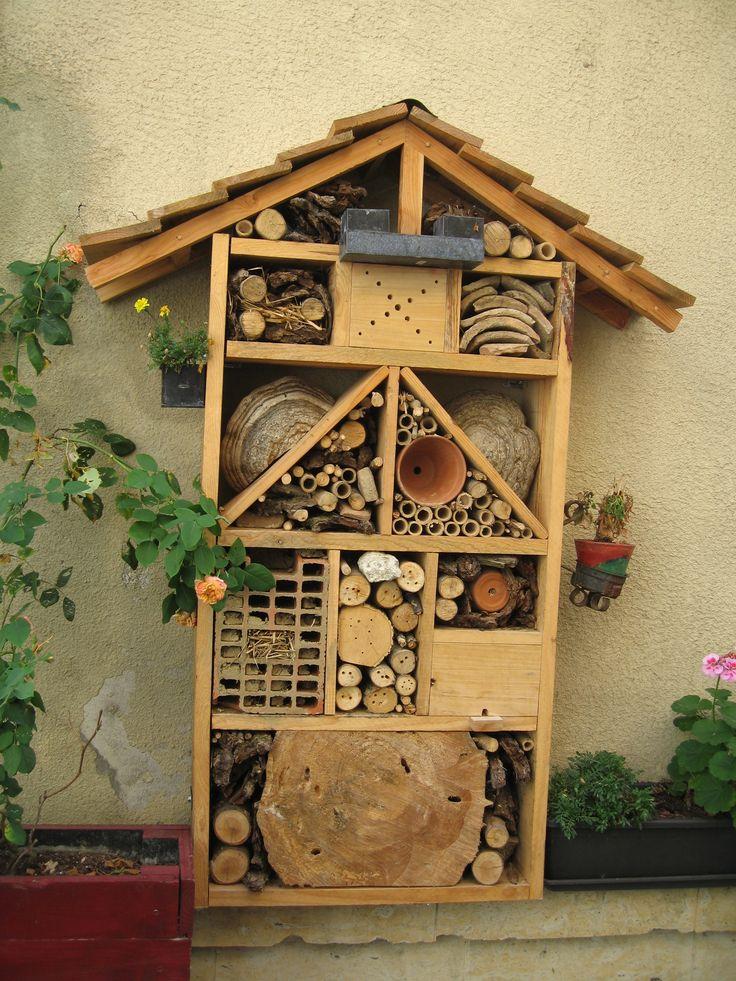 Les 9 meilleures images du tableau maison insectes sur pinterest insectes h tel insectes et - Maison a insectes plan ...