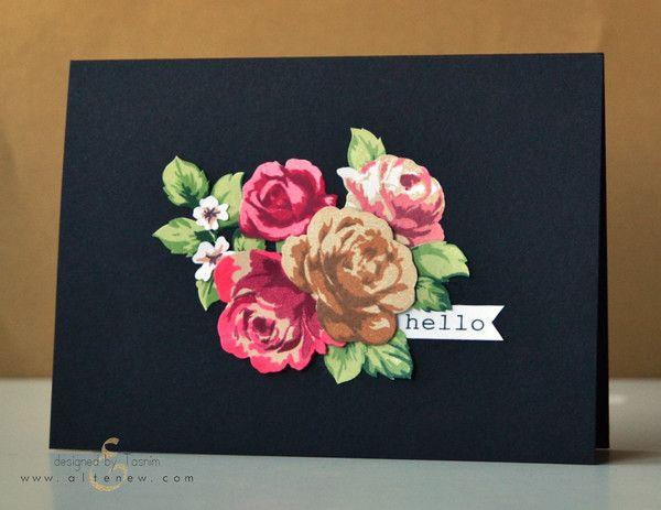 Vintage Roses - Altenew  - 7