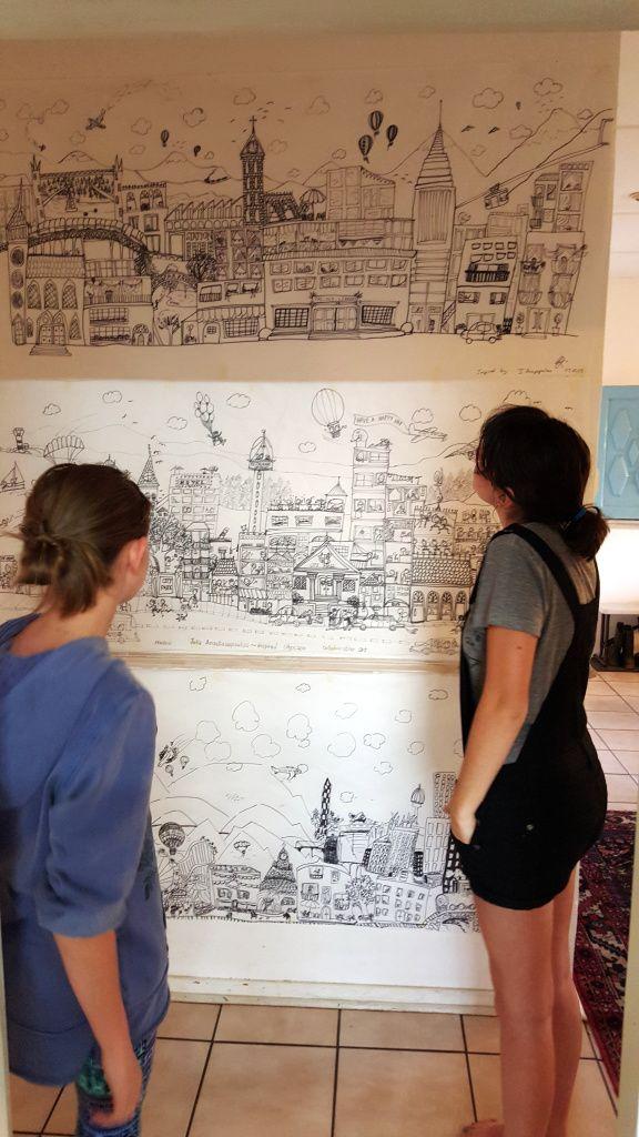 Art Appreciation ~ Julia Anastasopoulos inspired murals