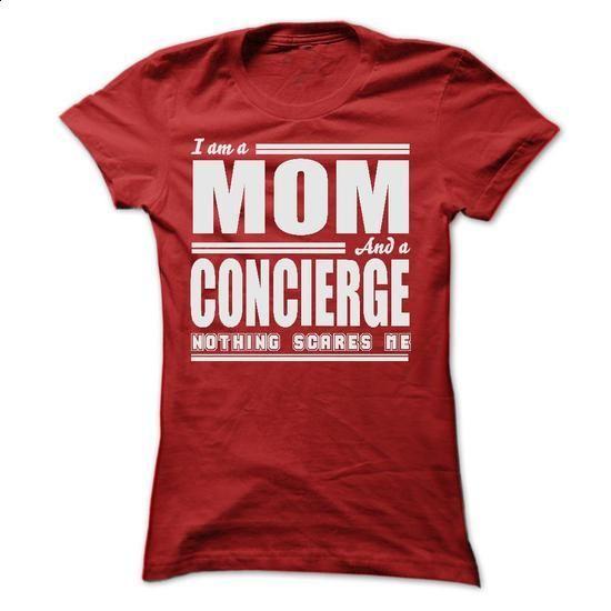 I AM A MOM AND A CONCIERGE SHIRTS - #hoodie womens #sweatshirt street. BUY NOW => https://www.sunfrog.com/LifeStyle/I-AM-A-MOM-AND-A-CONCIERGE-SHIRTS-Ladies.html?68278