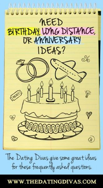 TONS of ideas for the man in your life! Perfect for his birthday, when you have to be apart, and your anniversary!