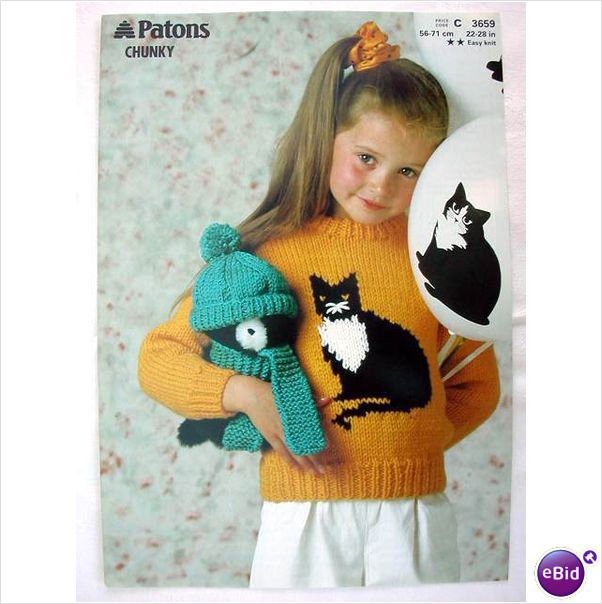 Cat Jumper Knitting Pattern : 1568 best images about Cat crafts on Pinterest Brooches, Kitty cats and Fel...