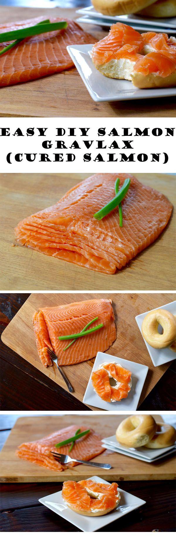 Easy DIY Salmon Gravlax