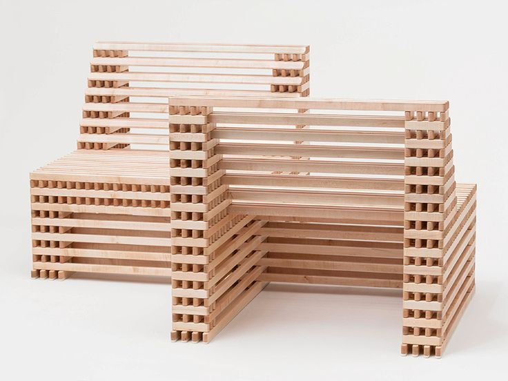 Ian Stell Forms Flexible Furniture That Expands Contracts For Countless Configurations