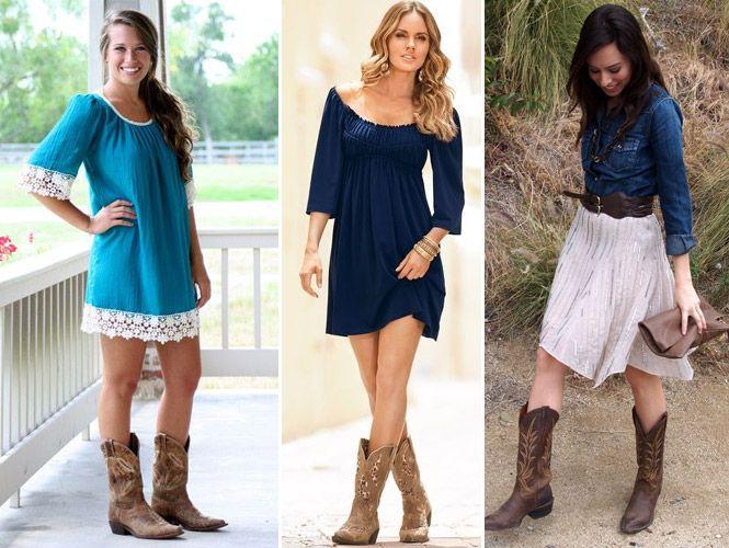 Veja como usar e como combinar as botas femininas texanas. Fotos com inspirações de looks incríveis!