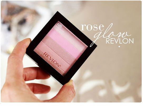 Alina Rose Makeup Blog: Nowy rozświetlacz Revlon Rose Glow.