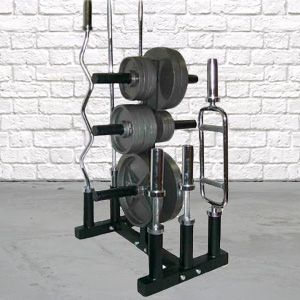 Barbell and Plate Holder To Keep Your Gym Clutter Free, The Best From Bells Of Steel