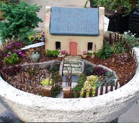 Best Miniature Fairy Gardens Images On Pinterest Fairies