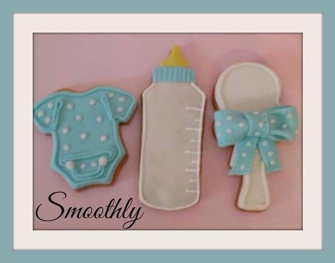 Biscotti come bomboniere o segna posto Per il battesimo dei vostri bimbi by smoothly