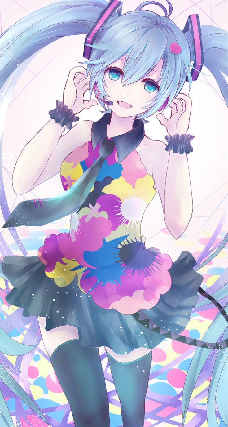 chibi hatsune miku phone wallpaper - photo #41