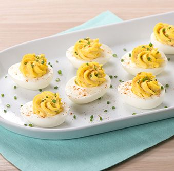 Try this delicious Horseradish Devilled Eggs recipe today!