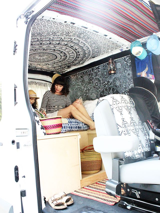 a peek inside the van project