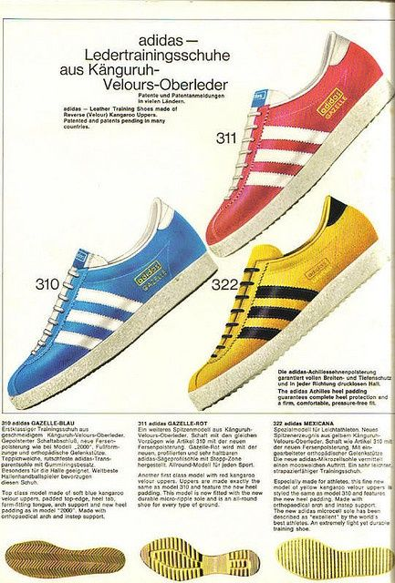 A vintage classic: the Adidas Gazelle trainer