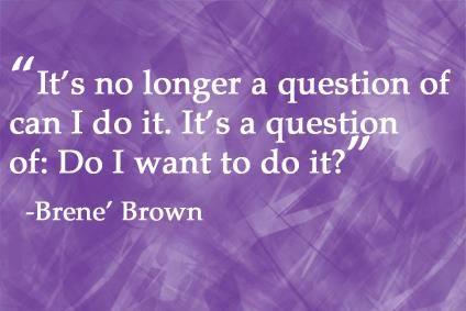 Brene Brown quotes on DivorcedMoms.com