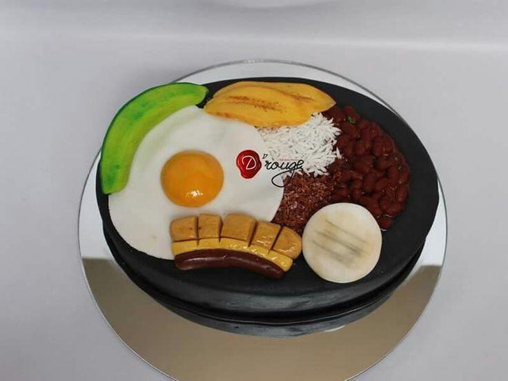 Torta Bandeja Paisa 100 % Comestible.
