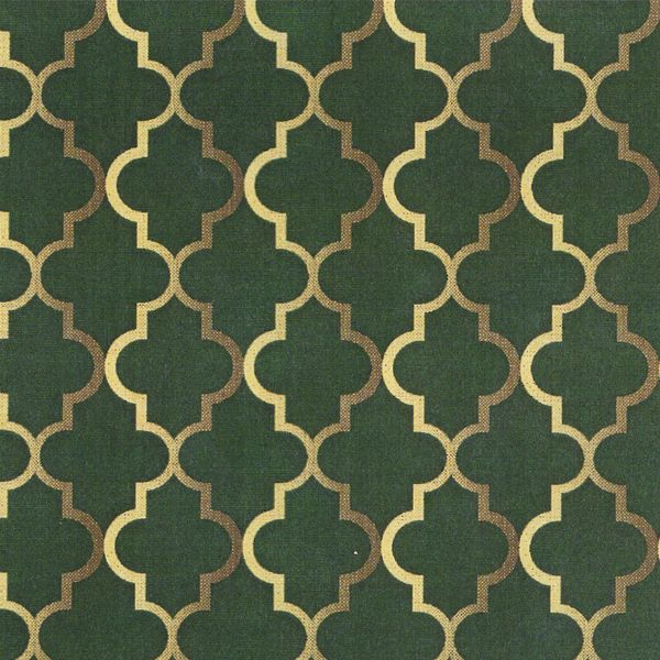 NA6 - Vitral Fundo Verde Fabricart Tecidos