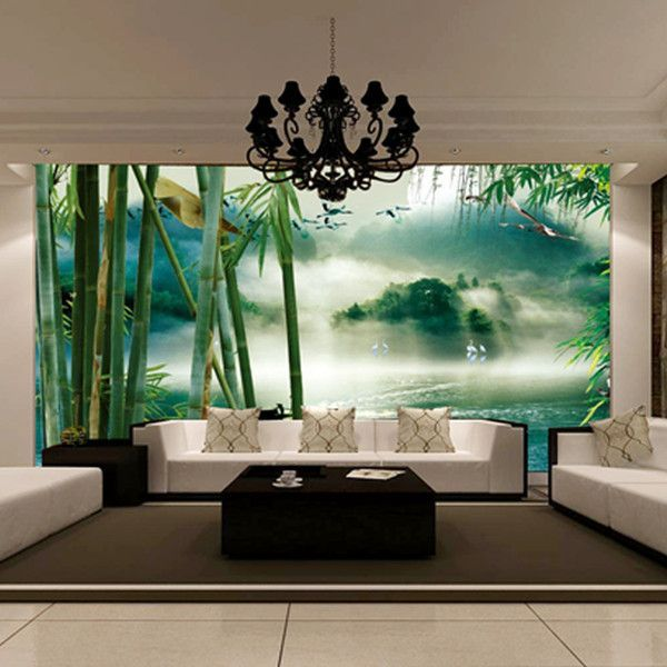 New Hot Can Be Customized Large Mural 3d Wallpaper Bedroom Living Room Tv Backdrop Of Chinese Landscape Painting V Wallpaper Bedroom Living Room Tv Large Mural #wallpaper #decorating #living #room
