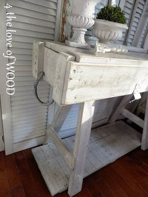 4 the love of wood: REPURPOSING AN AMMO BOX - how to. Now I just need to find an ammo box and wooden sawhorses!!!!!