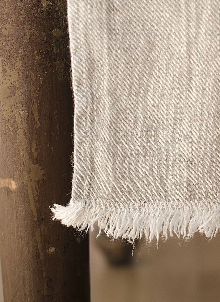 #LinenWay #Linen #Runner #Stone-washed linen #Fringed edge #100% Linen #stone-washed