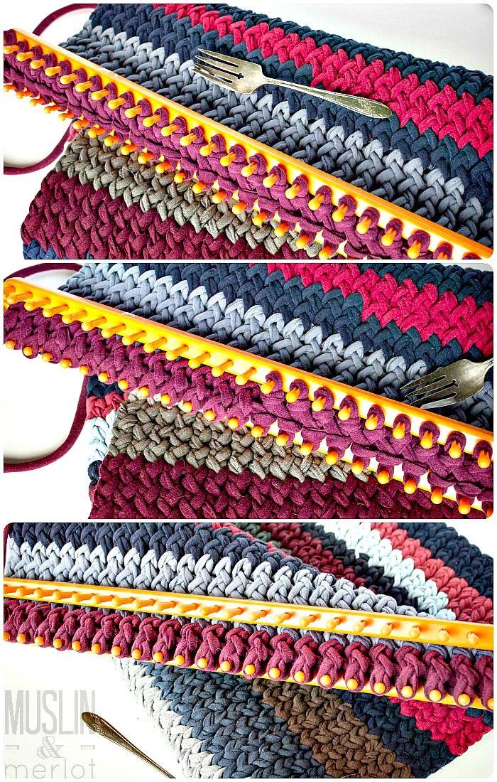 8 Best Weaving Images On Pinterest Weaving Loom Knitting And