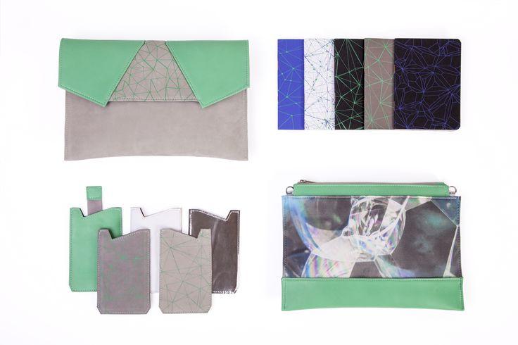 Green kit♥ #BLACKLIST#blacklistdesign #green #clutch #notebook #phonecase #screenprinted #accessories #budapest #leather #bag #bagdesign