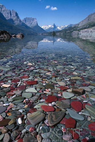 #nature St. Mary Lake, Glacier National Park, Montana