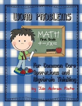 Word problems are a HUGE element of the Common Core math standards for First Grade.This packet contains 20 word problems that meet 2-4 Common Cor...