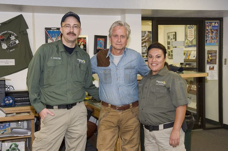 Michael Douglas and Code Compliance Officers Johnston and Avendano