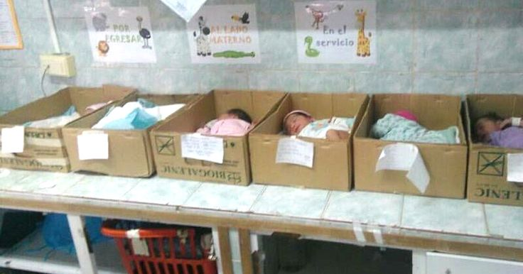 Photos of babies in cardboard boxes highlight Venezuela crisis: More proof socialism doesn't work