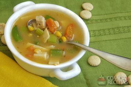 Receita de Caldo de legumes em receitas de sopas e caldos, veja essa e outras receitas aqui!