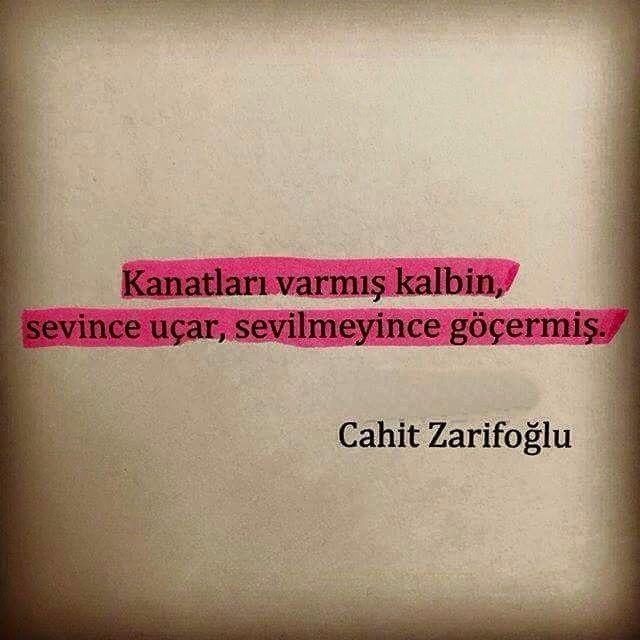 ~ Cahit Zarifoğlu