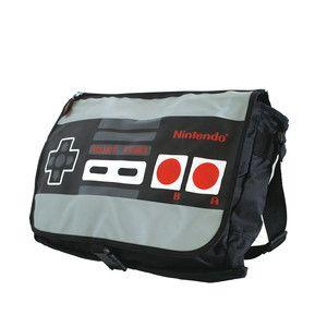 Wendbare Schultertasche Nintendo