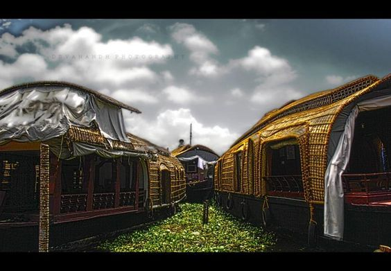 alleppey boat house - Photography by Deva Desperado in My Projects at touchtalent 18822: