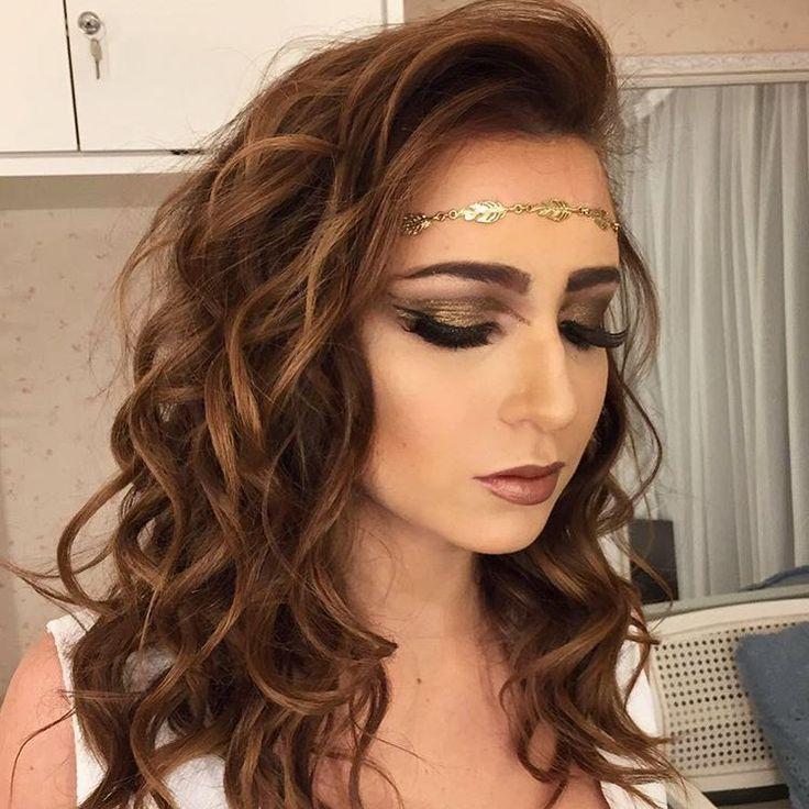 #mulpix Deusa Grega ontem por mim no #studio87 #make #makeup #grega #deusa #beauty #love #loveit