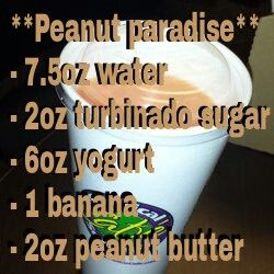 PEANUT PARADISE REAL TROPICAL SMOOTHIE RECIPE
