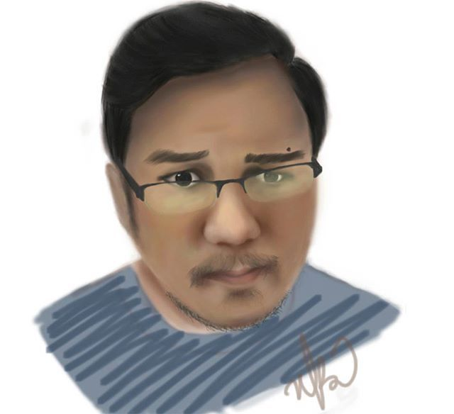 Indonesian youtuber : @ridwanhalimz . . 🐤🐤 . . .? - .  #winnonart #winnonartbrush #digipaint #painting #drawing #illustration #illustrate #jasagambar #ordergambar #kado #kadounik #kadopacar #kadocowok #kadocewek #kadoanniversary #animatorindonesia #like4like #likeforlike #opencommissions
