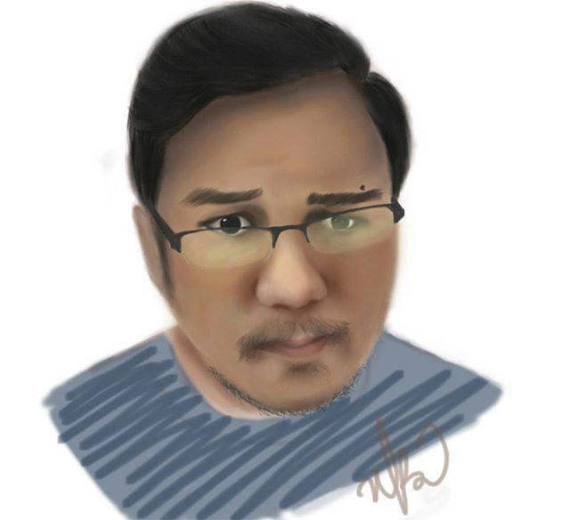 Indonesian youtuber : @ridwanhalimz . . 🐤🐤 . . .? - .  #winnonart #winnonartbrush #digipaint #painting #drawing #illustration #illustrate #jasagambar #ordergambar #kado #kadounik #kadopacar #kadocowok #kadocewek #kadoanniversary #animatorindonesia #like4like #likeforlike #opencommissions