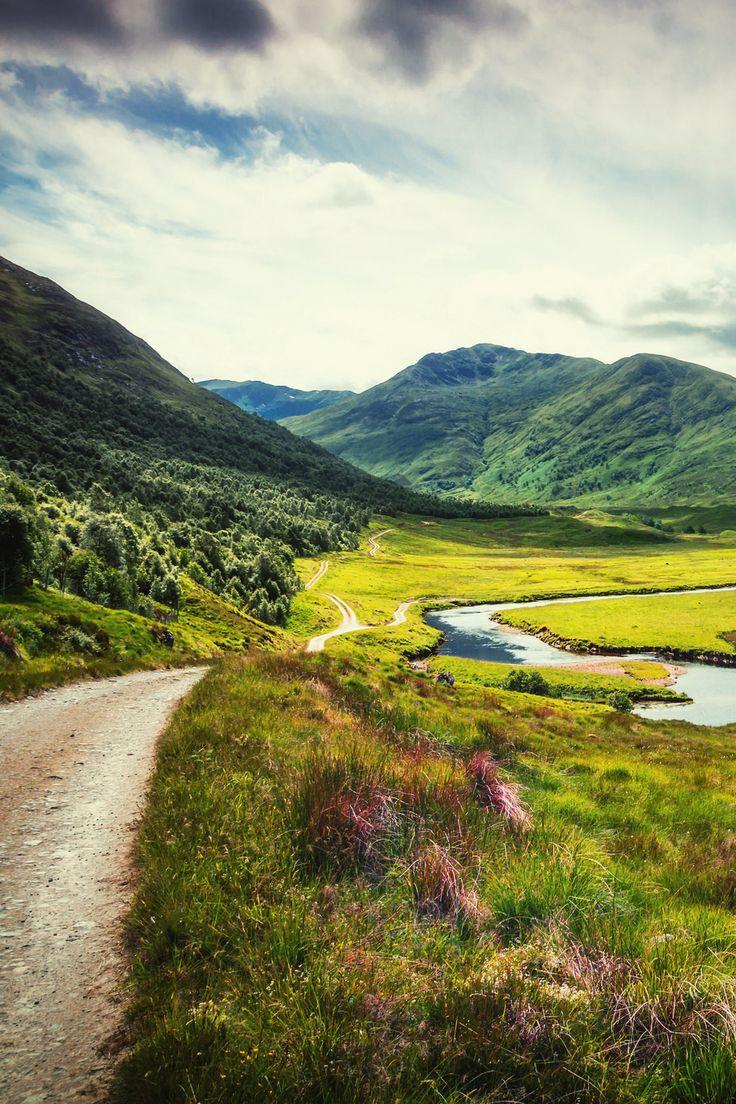 mstrkrftz: Valley of Beauty - Glen Affric, Scotland by fresch-energy