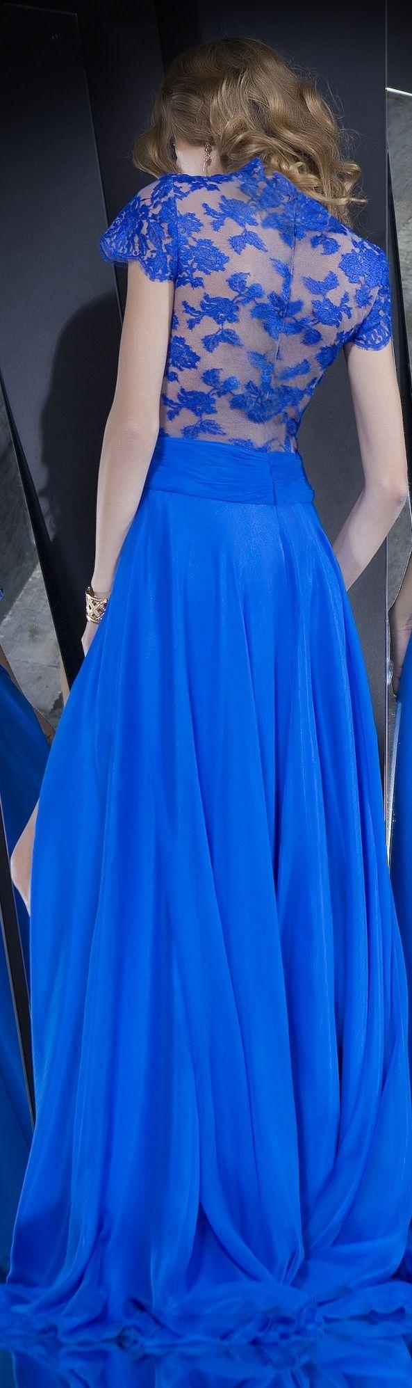 Rochii de Seara Beautiful Lace Open Back Gown - Colectia Velvet Angels/2014 ~