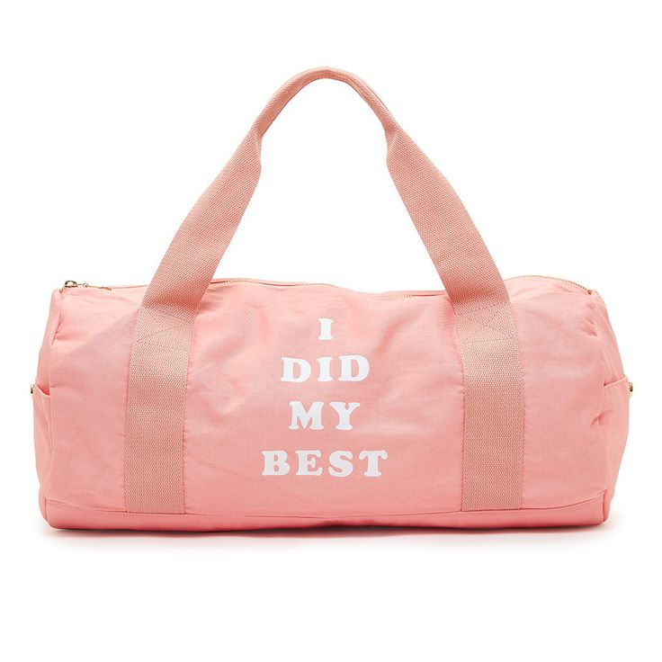 you've got major quad goals. whether that means a ton of power lunges at the gym or a couple of leg lifts while powering through reruns of the oc, you gotta have a cute bag to hold all your essentials