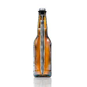 Gift box contains 2 one of a kind in-bottle beer chillers; keep your beer cold from the first sip to the last Freeze, insert into most standard long neck beer bottles and drink right through the Chillsner Perfect for parties, tailgating or any occasion where beloved beers are enjoyed