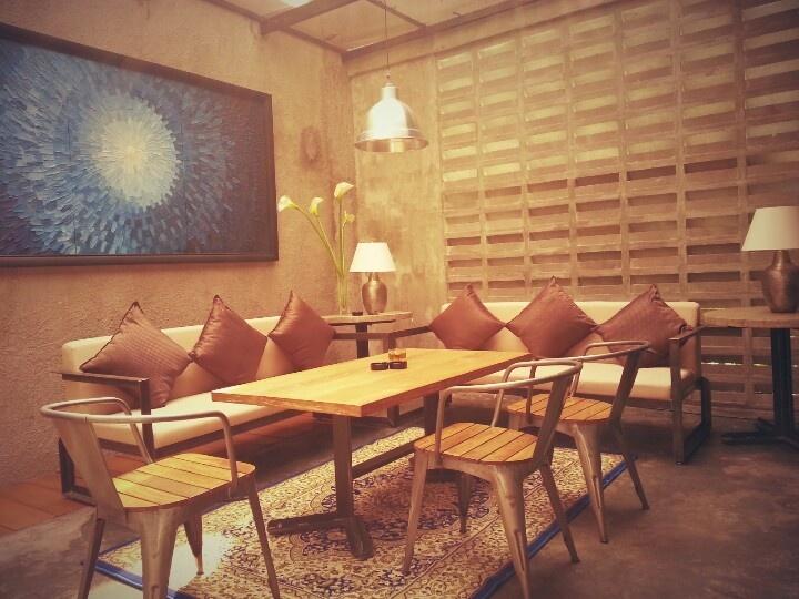 Cozy corner at Parc 19 #bistro #cafe #bar #restaurant #jakarta #interior #food