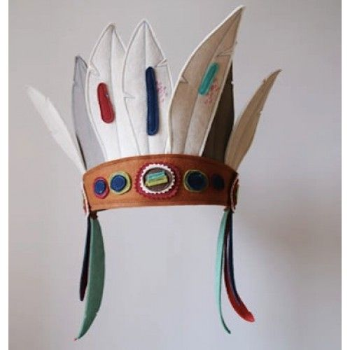 Indian feather headdress - kids